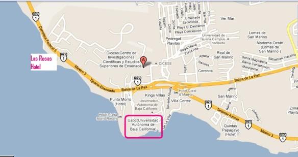 Mapa UABC desde Tijuana (1)
